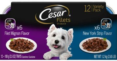 Cesar Filets Dog Food