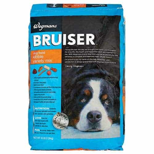 Wegmans Bruiser Kibble Variety Mix dog food
